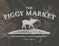 The Piggy Market // Rebranding