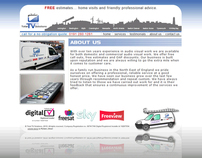 Total TV Solutions - Website & Brand Identity