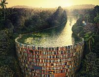 Bible Dam (Jacek Yerka)