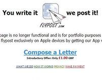 Flypost.co.uk - 2004 (Now iFlypost.com / iFlypost App)