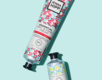 Jenna Hipp Nail & Hand Cream Branding & Packaging