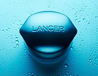 Lancer Skincare Rebrand & Package Design