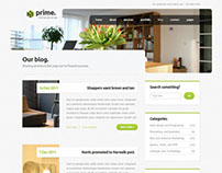 Prime - Simple Business Wordpress Theme 3
