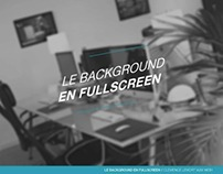 Dossier: Le background en fullscreen