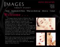 Images Beauty Studio - Website & Brand Identity