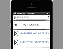 Updated Librarian Book Recommendation Phone App w/Slide