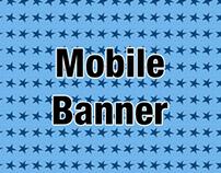 mobile banner 320x50 pixels