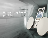 Motion design: Bang & Olufsen products