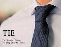 Tie – Parallax Online Tie shop Shopify Theme