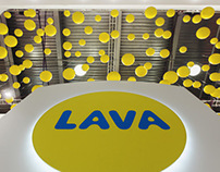 Lava expo booth