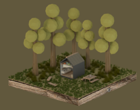 House in the forest (just for fun)