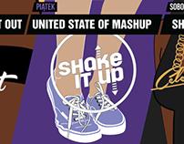 Logo oraz grafika imprez // Elefunk The Club