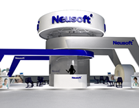 Neusoft Booth (at mental flame)