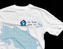 Camisetas Techo - Costa Rica