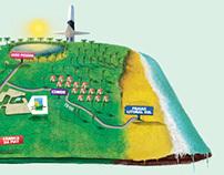 Mapa Damha