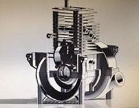 Reverse Engineering - Single Cylinder Petrol Engine