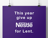 Cadbury - Give up Nestle for Lent