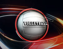 'Volleyball Qualifier Highlights' graphics