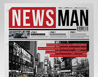 NewsMan 12 Pages Newsletter