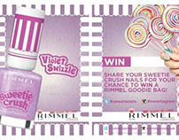 Rimmel London - Sweetie Crush Print Handout Cards