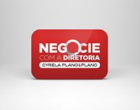 Negocie com a diretoria - Cyrela Plano&Plano