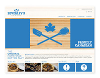 Beverley's Bakers - Website