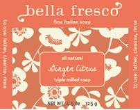 Branding Concepts-Bella Fresco Fine Italian Soaps