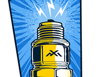 Moto X Addicts - Spark plug sticker