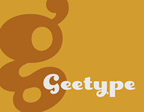 Geetype font
