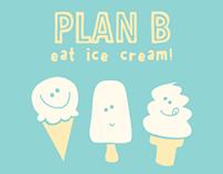 Ice cream T-shirt graphic