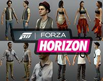 Forza: Horizon Characters