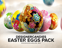 Free Easter Egg Renders Pack