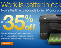HP Event - Landing Page, Email, Banner