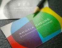 Business cards: Angela