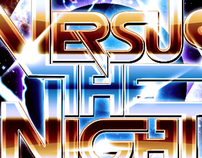 Versus The Night Metal Logo