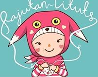 Tituts Knitting Mascot