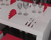 My own architecture work: a restaurant in Fréjus
