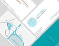 Cartes de visite pour osthéopathe