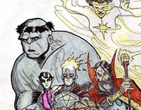 The Arcane Avengers