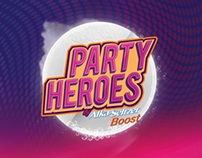 ALKA-SELTZER BOOST// PARTY HEROES