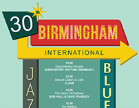 Jazz and Blues Festival Poster