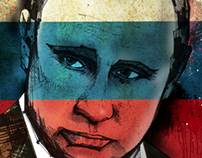 Vladimir Putin - Editorial Illustration