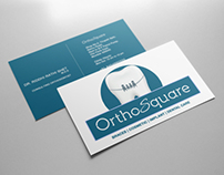 Orthosquare Dental Clinic Logo & Brand Identity