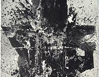 Grabados abstractos de gran formato