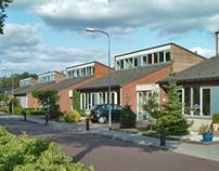 Wallerstraat housing, Nijkerk, the Netherlands