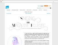 Landing Page Designs for Blurb.com
