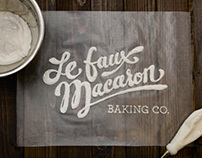 Le Faux Macaron Baking Co. Annual Report Design