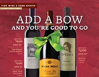 Fine Wine & Good Spirits Newspaper Inserts