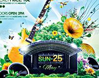 Summer Gig Poster | Flyer
