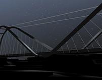 Ponte sul Serchio . Lucca . Concorso di progettazione